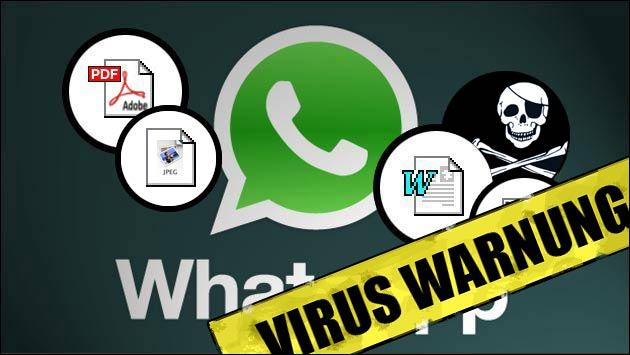 WhatsApp: Virus als Anhang