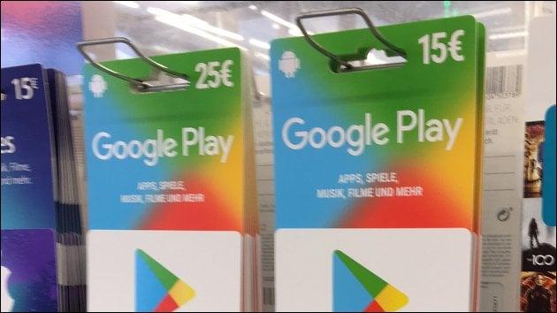 Google Play Store Rabatt