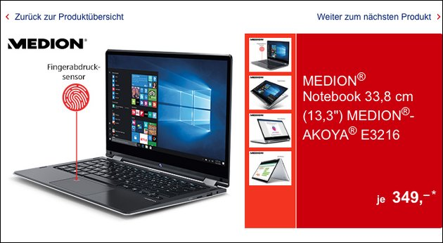Medion Akoya E3216