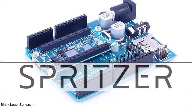 Sony Spritzer: Arduino kompatibles Maker Board