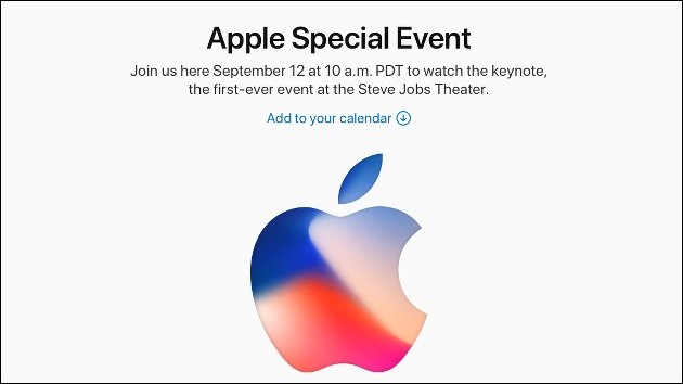 Apple iPhone X Event live