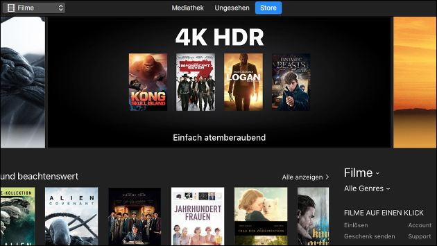 4K Video-Streaming