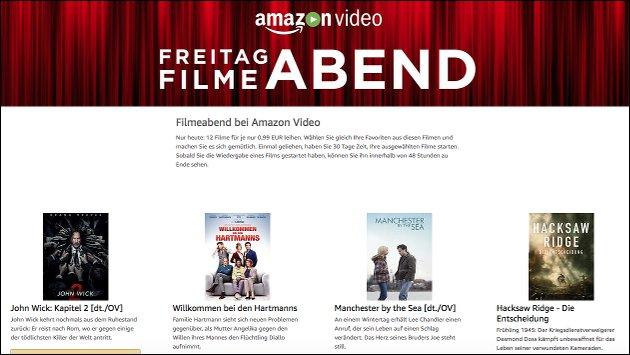 Amazon Freitag Filmabend