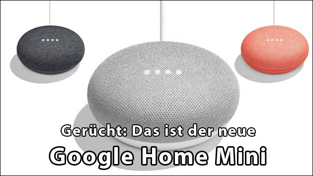 ger cht google home mini neue alexa konkurrenz f r 49. Black Bedroom Furniture Sets. Home Design Ideas