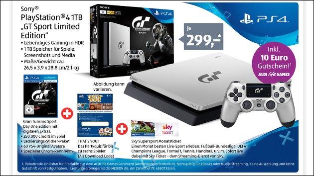 Sony PS4 bei Aldi