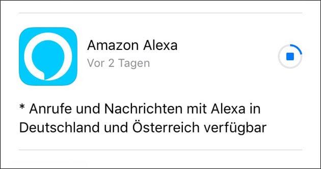 Alexa Update erlaubt Anrufe