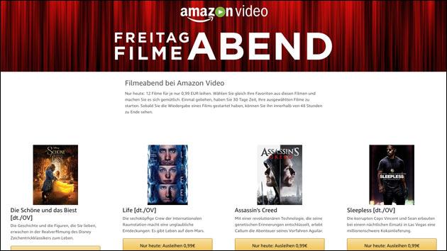 Amazon Freitag Filme-Abend