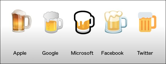 Google Bier Emoji