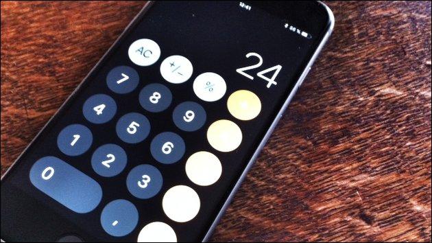 iOS Taschenrechner Bug