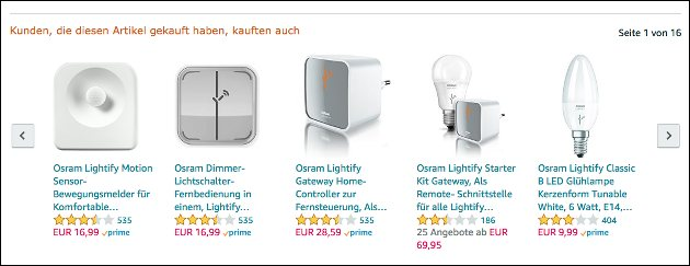 Osram Lightify Angebot