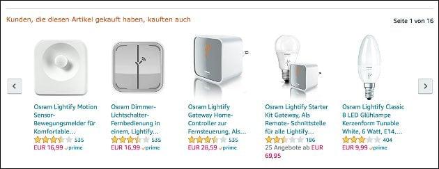 osram lightify angebote smart home led lampen ab 10 eur. Black Bedroom Furniture Sets. Home Design Ideas