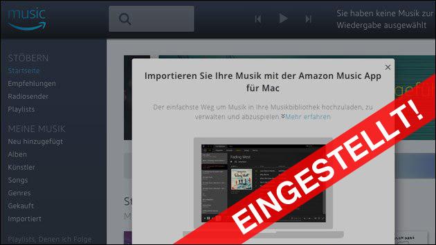 Blöd Für Echo Besitzer Amazon Stellt Online Speicher Für Musik Ein