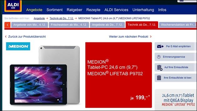 Medion LifeTab P9702