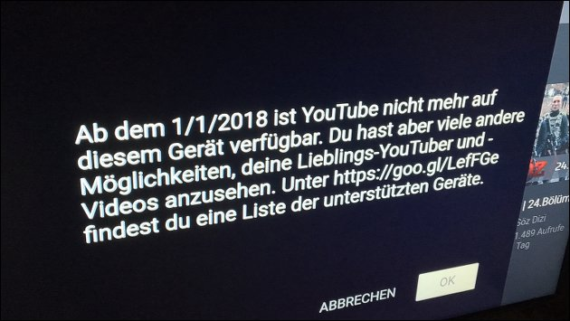 YouTube auf dem Amazon Echo Show