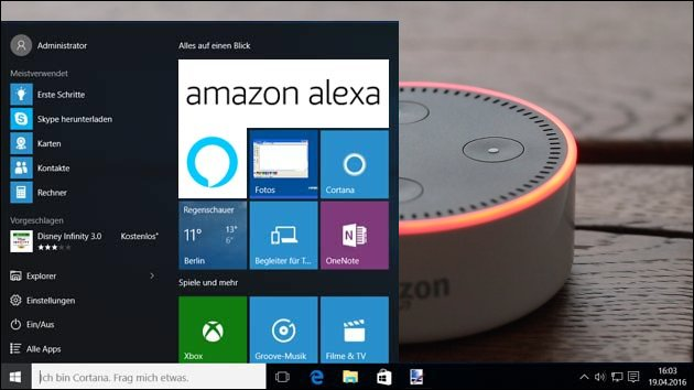 Amazon Alexa für Windows