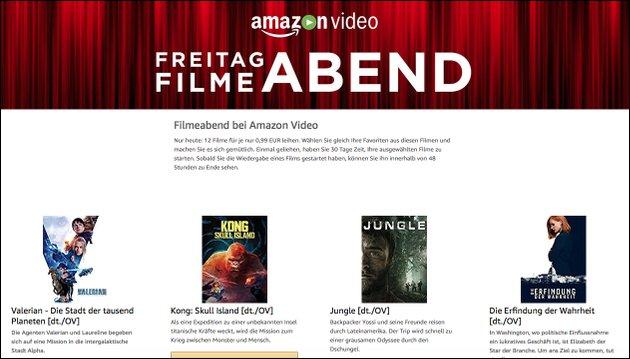 Amazon Filme Abend Videos ausleihen