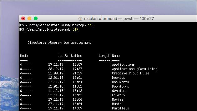 Microsoft veröffentlich PowerShell für Mac und Linux