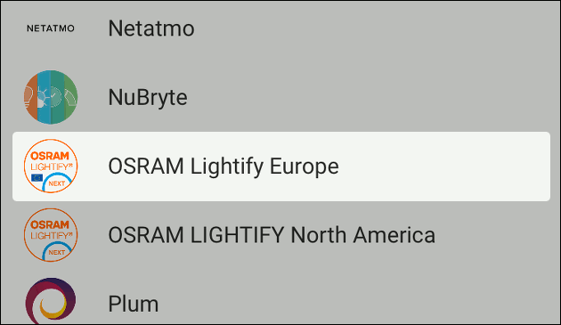 Google Home kann jetzt Osram Lightify