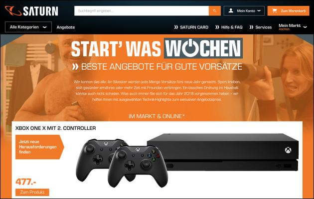 Start was Wochen: Xbox One Angebot