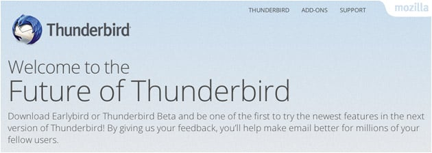 Thunderbird 52.6.0: Update