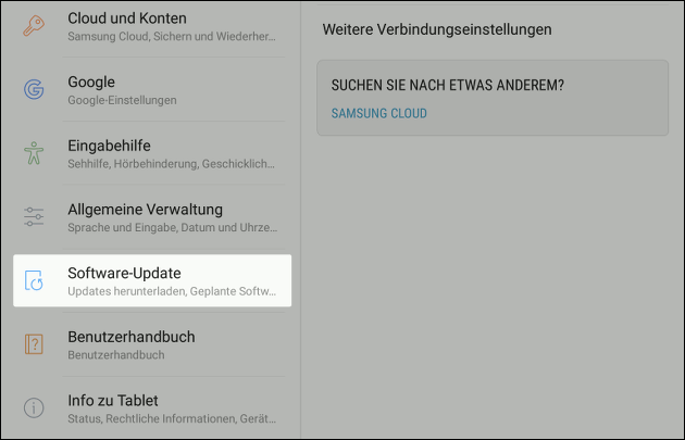Samsung Software-Update