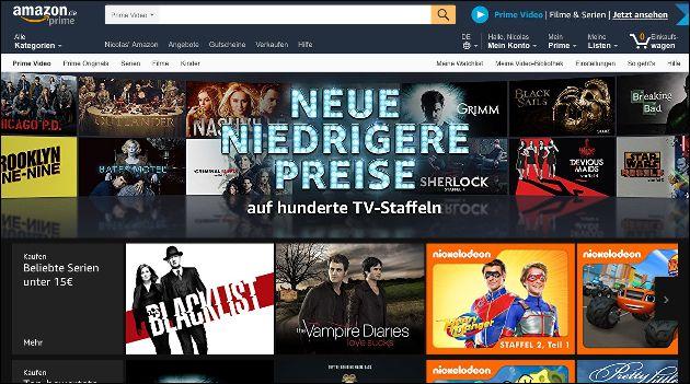 Amazon Serien Angebote