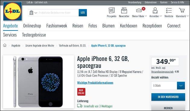 iPhone 6 Lidl