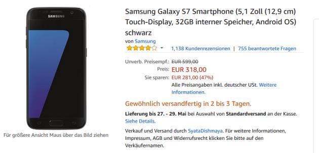 Galaxy S7 Amazon