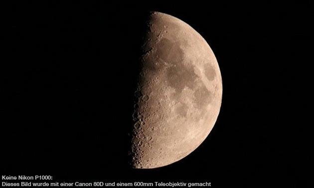 Zoom-Foto: Mond