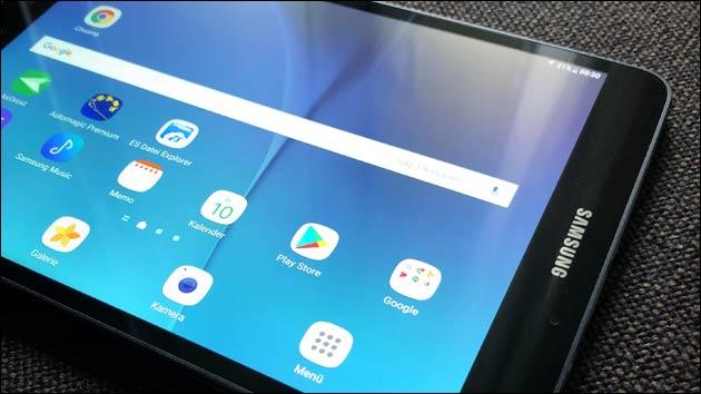Samsung Galaxy Landscape Modus