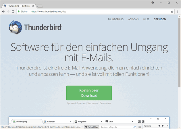 Thunderbird 60