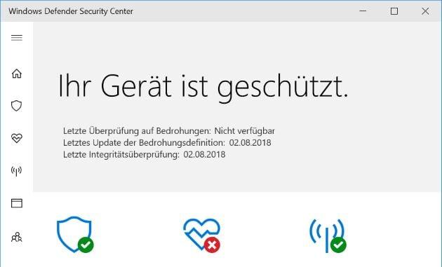 Windows Defender Test