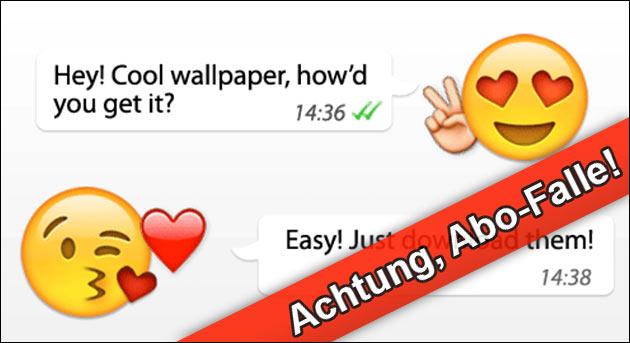 WhatsApp bewegte Emoji