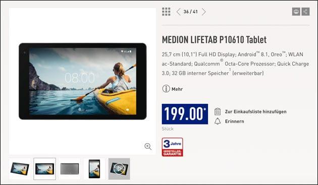 Medion Lifetab P10610