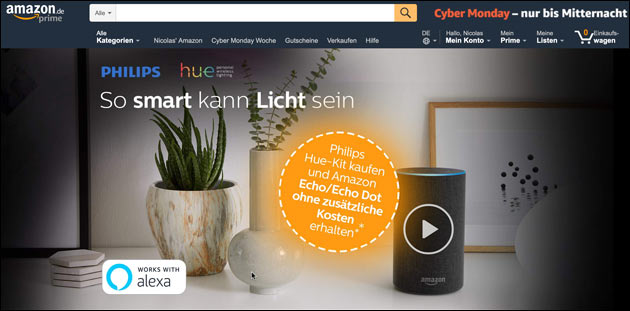 Cyber Monday Philips hue