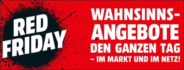 Mediamarkt: Red Friday
