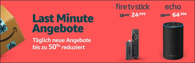 Amazon Last Minute Angebote