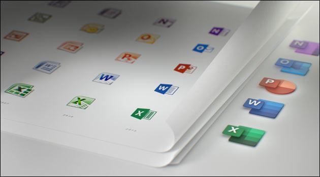 Neue MS Office Icons