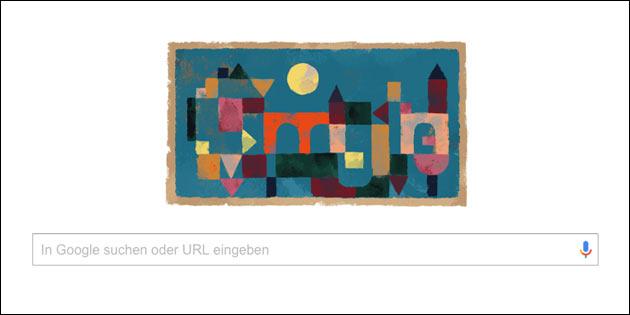 Paul Klee: Google Doodle