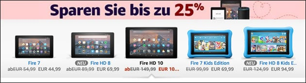 Fire Tablet Angebot