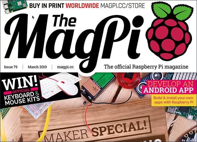 MagPi 79 Magazin