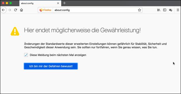 Firefox Lösung