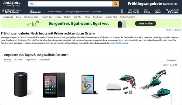 Amazon Angebote zu Ostern