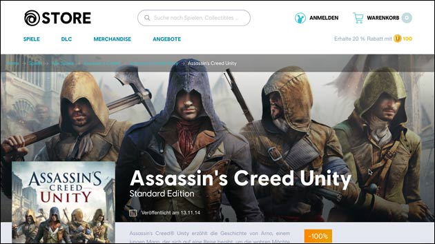 Assasin's Creed kostenlos