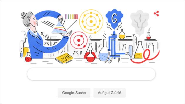 Google Doodle für Hedwig Kohn