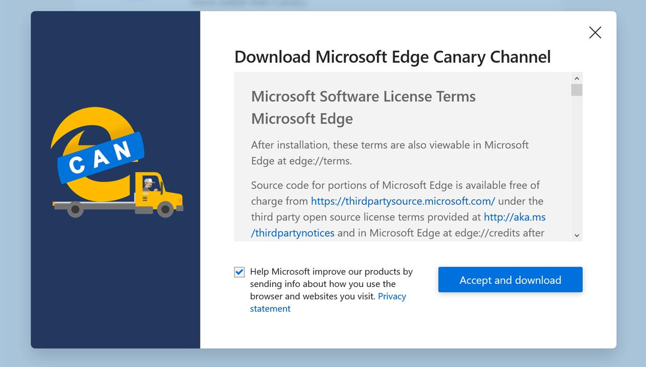 Microsoft Edge mit Chromium