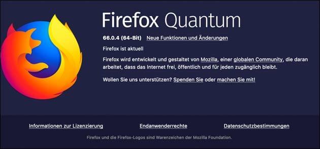 Firefox Update 66.0.4