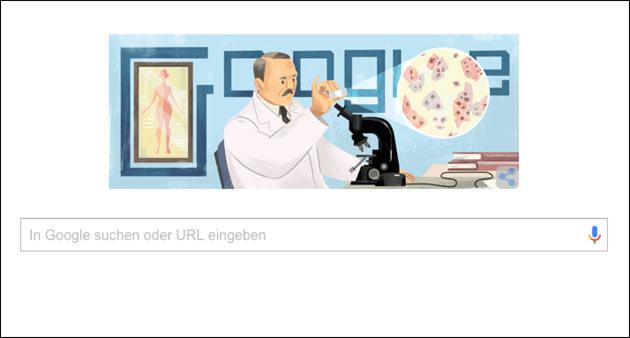 Google Doodle für Georgios Papanikolaou