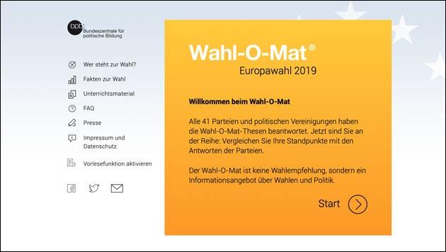 Wahl-O-Mat 2019