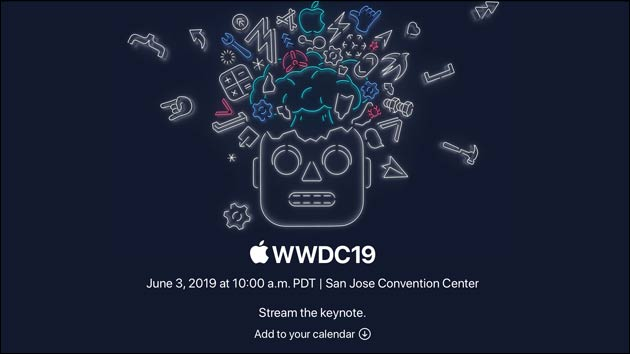 Apple WWDC 19 Live-Stream
